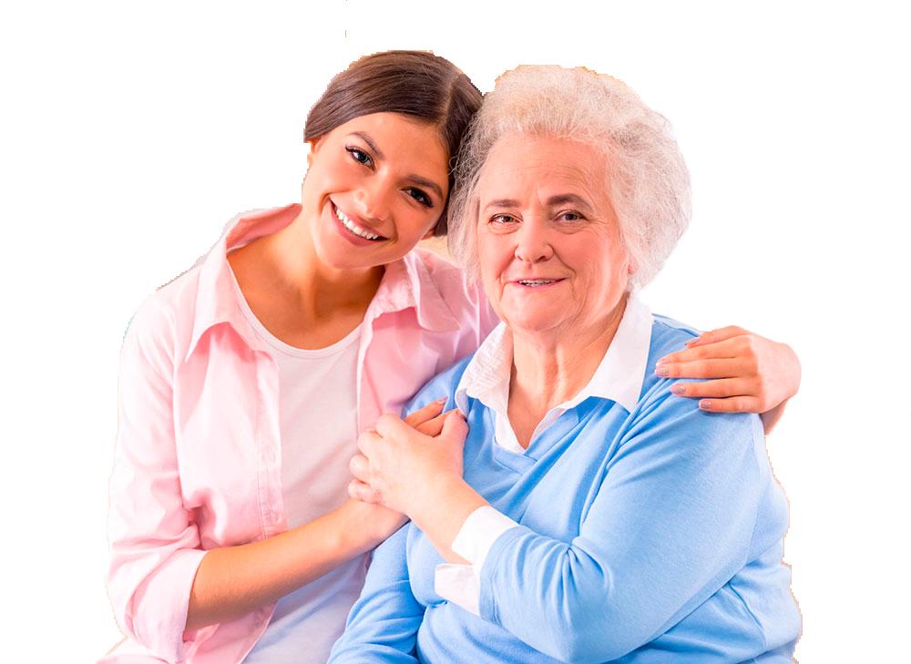 cuidados a personas mayores a domicilio en Barcelona