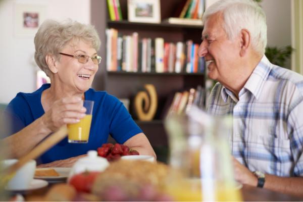 La alimentación de las personas mayores