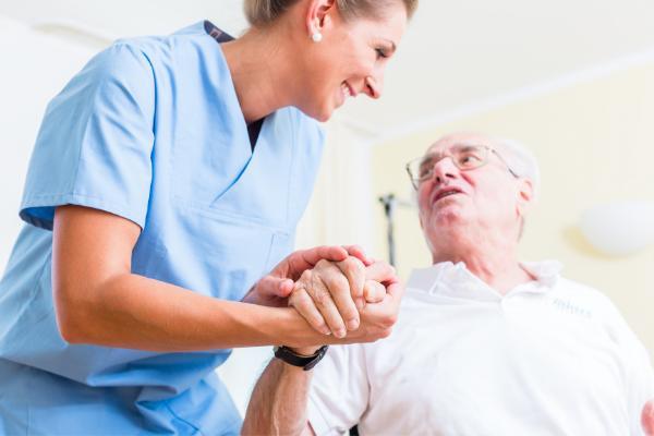 Cuidados para personas mayores encamadas